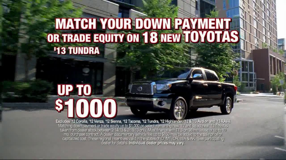 Toyota President Weekend Sales Event TV Spot  - Screenshot 3