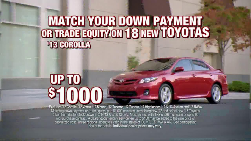 Toyota President Weekend Sales Event TV Spot  - Screenshot 4