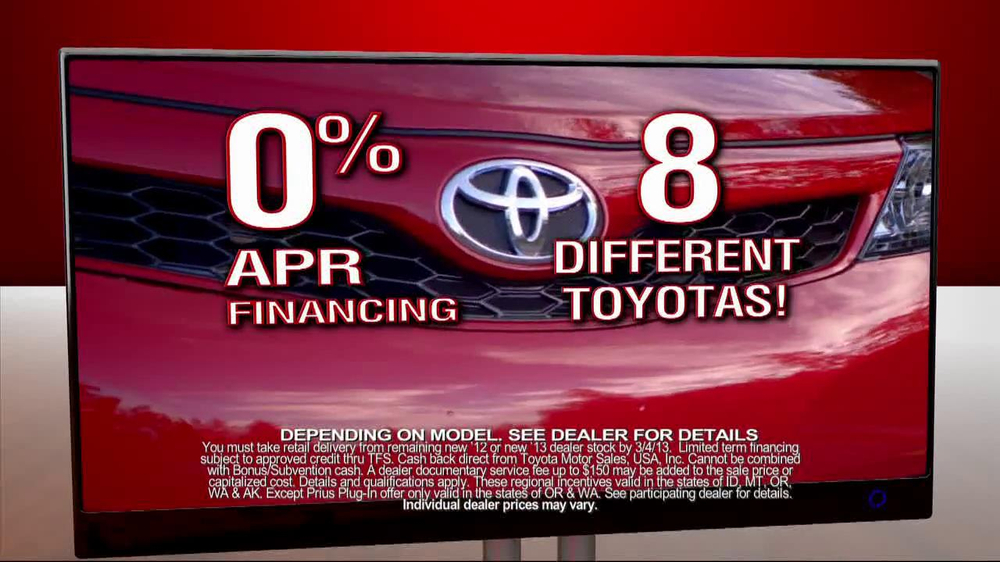 Toyota President Weekend Sales Event TV Spot  - Screenshot 6