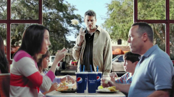 Long John Silver's Cod and Shrimp Basket TV Spot, 'Not in a Bun'