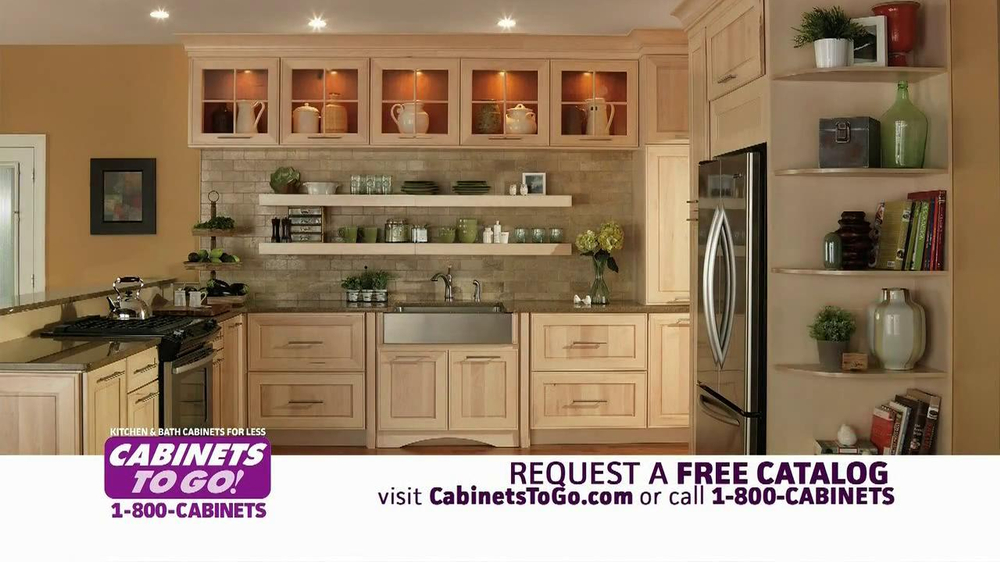 Cabinets to go tv spot 39 30 off 39 for Kitchen cabinets to go