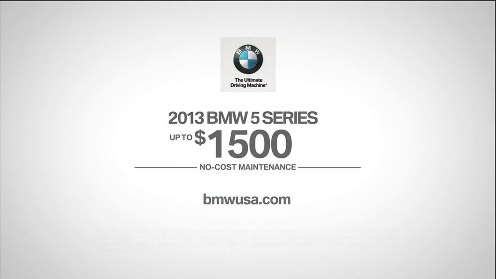 2013 BMW 5 Series TV Spot, 'What you Love' - Screenshot 10