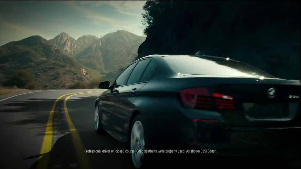 2013 BMW 5 Series TV Spot, 'What you Love' - Screenshot 8