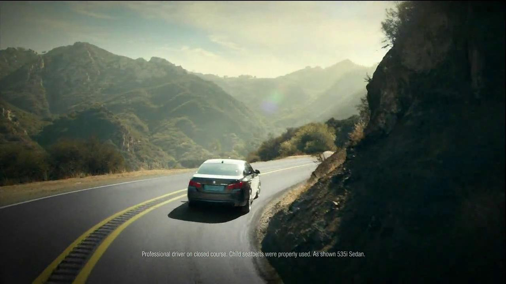 2013 BMW 5 Series TV Spot, 'What you Love' - Screenshot 9