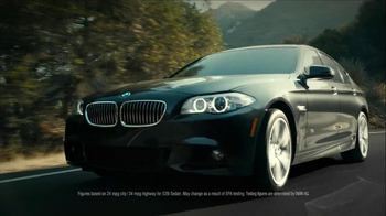 2013 BMW 5 Series TV Spot, 'What you Love' - Thumbnail 5