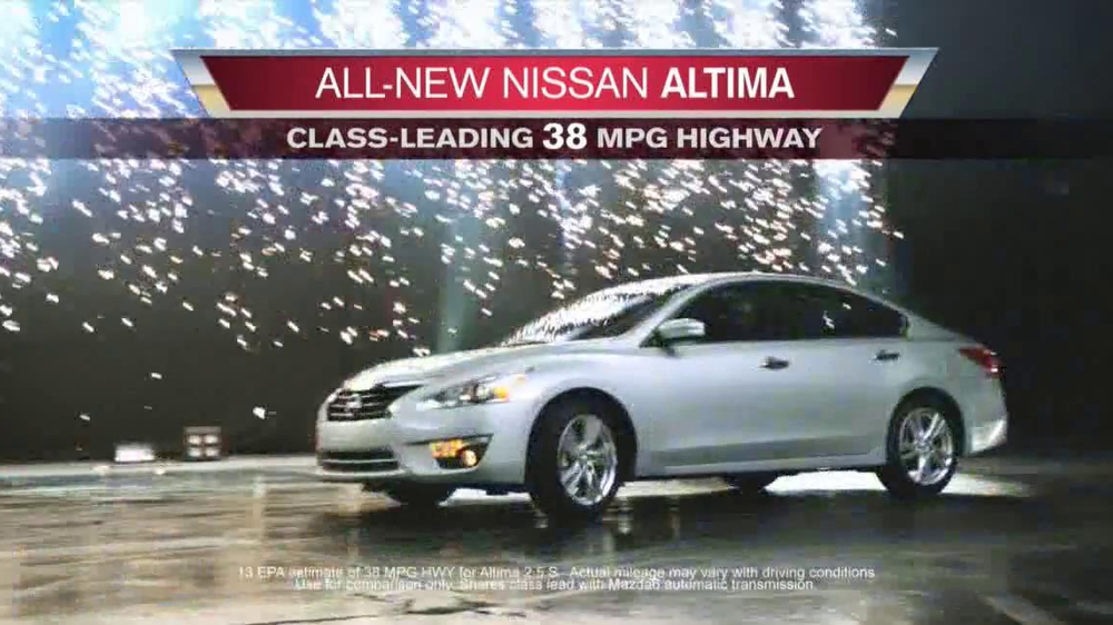 Nissan Now Sales Event Tv Commercial Altima Song By The