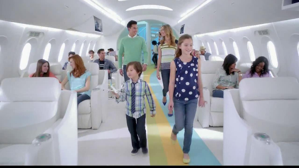 Old Navy TV Spot, 'Airplane Jean Sale' Featuring Julie Hagerty - Screenshot 1