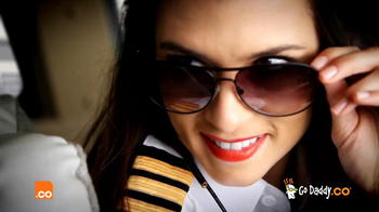 Go Daddy Super Bowl 2013 Teaser, 'Fly the Danica Skies'
