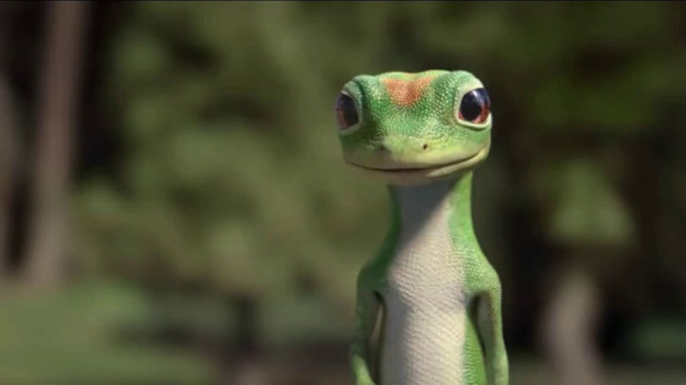 GEICO TV Spot, 'Gecko Behind the - 32.5KB