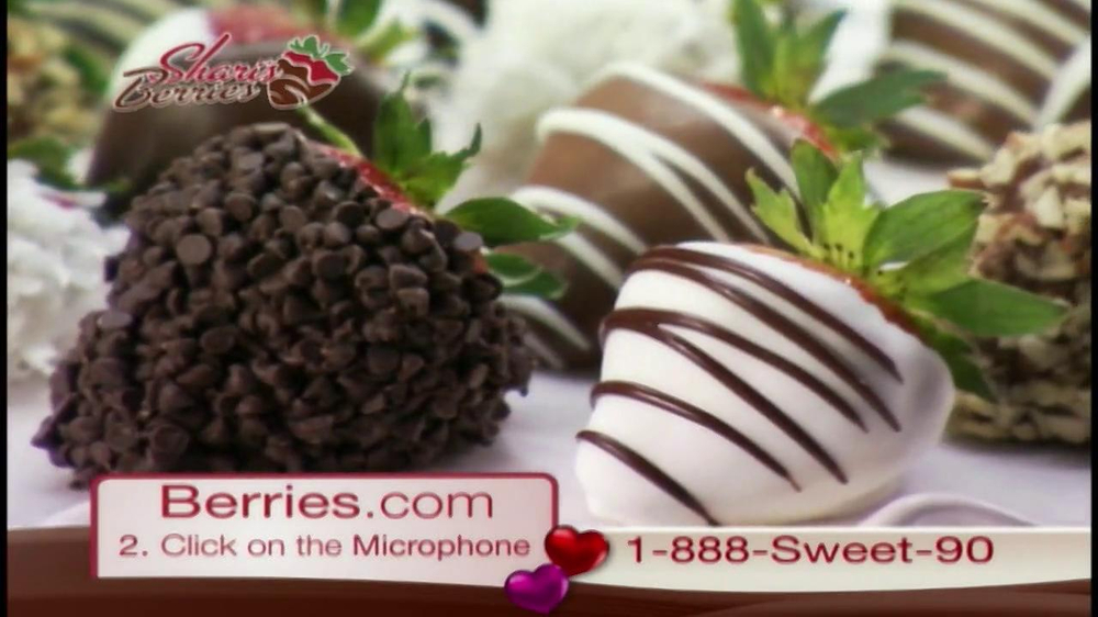 Shari's Berries TV Spot  - Screenshot 1