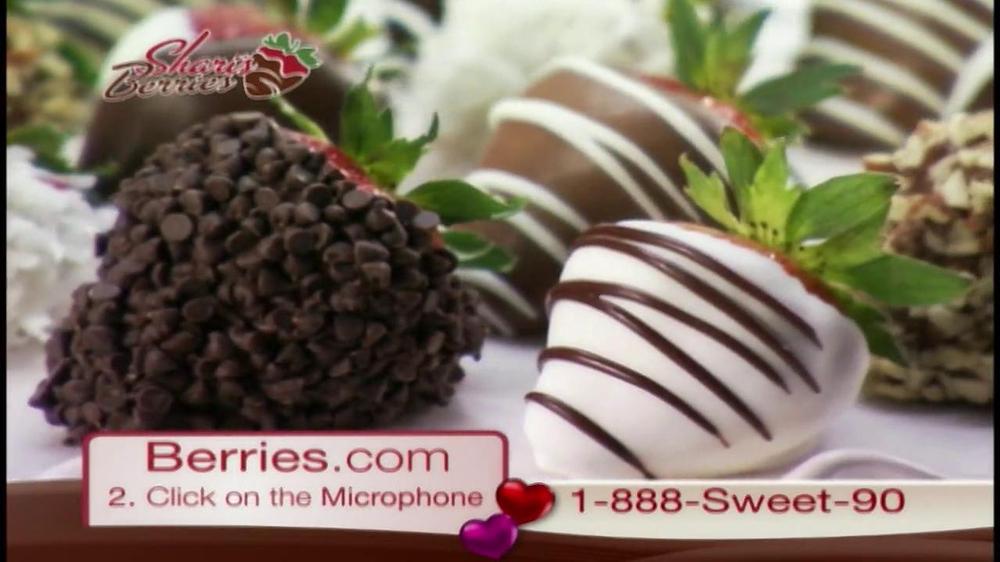 Shari's Berries TV Spot  - Screenshot 1