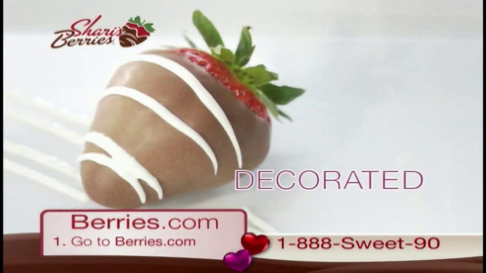 Shari's Berries TV Spot  - Screenshot 2