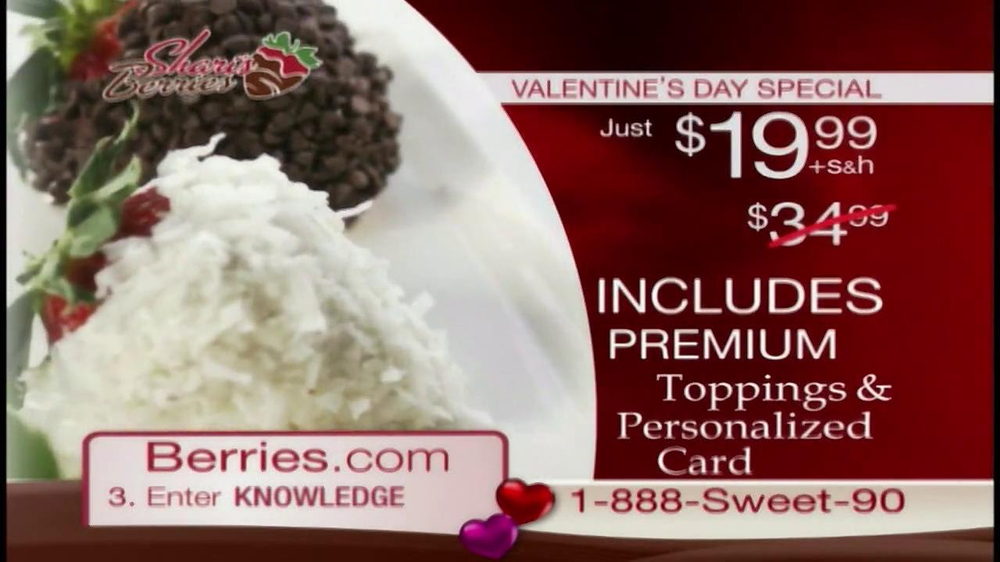 Shari's Berries TV Spot  - Screenshot 3