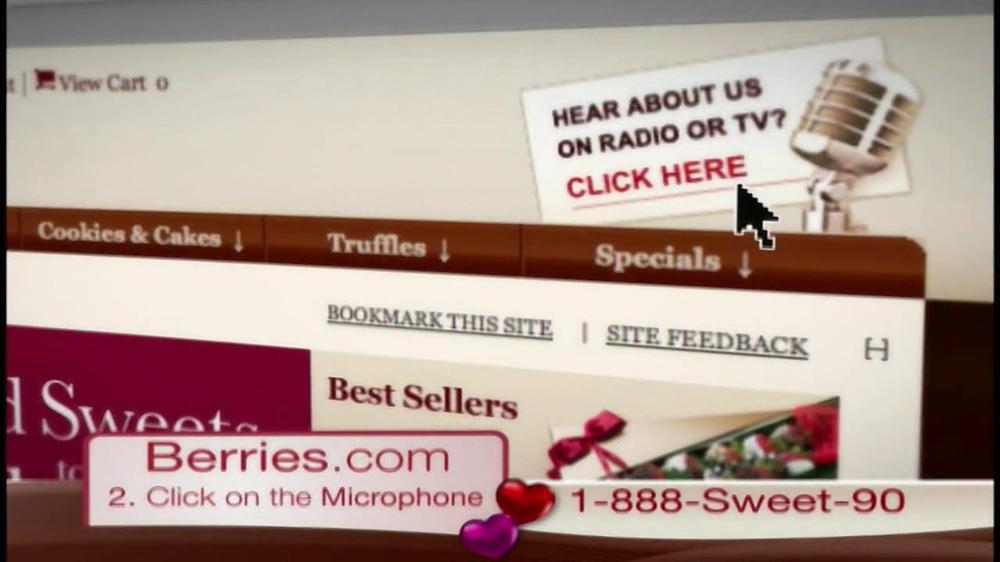Shari's Berries TV Spot  - Screenshot 4