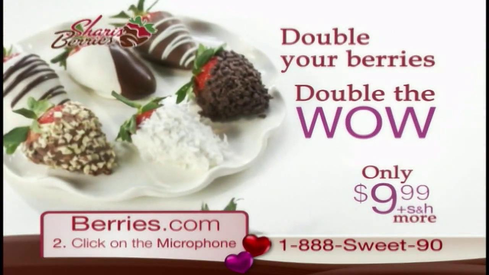 Shari's Berries TV Spot  - Screenshot 8