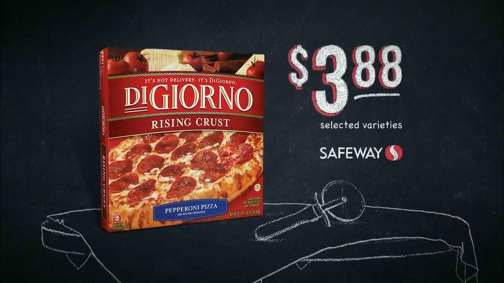 Safeway Deals of the Week TV Spot, 'DiGiorno, Dreyers' - Screenshot 4