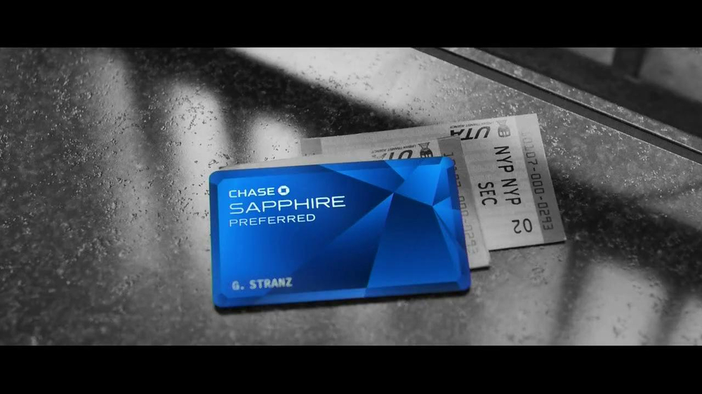 Chase Sapphire Preferred TV Spot, 'Train' Song by Paul McCartney - Screenshot 1