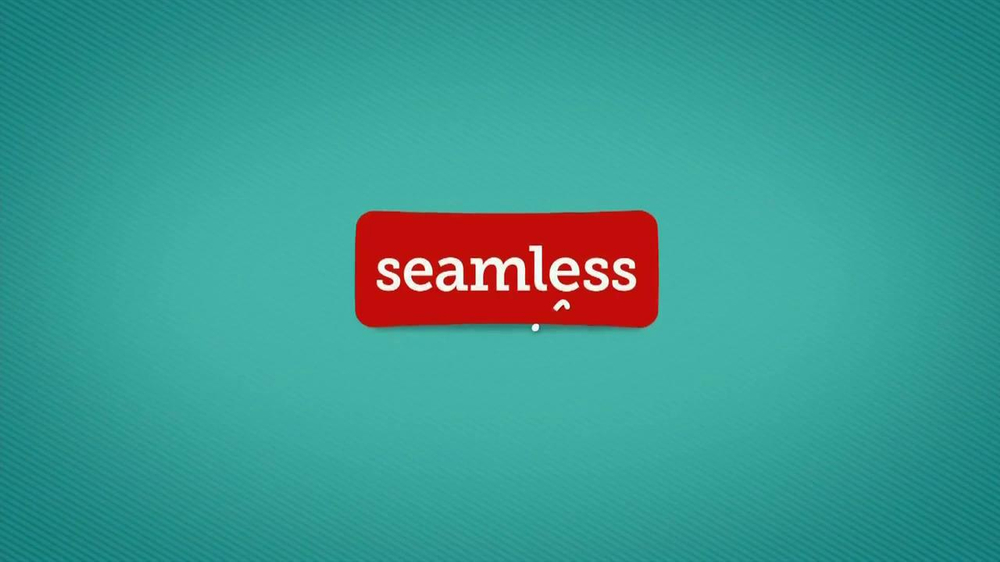 Seamless.com TV Spot, 'Food is Here' - Screenshot 1