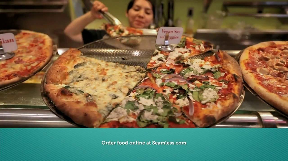 Seamless.com TV Spot, 'Food is Here' - Screenshot 2