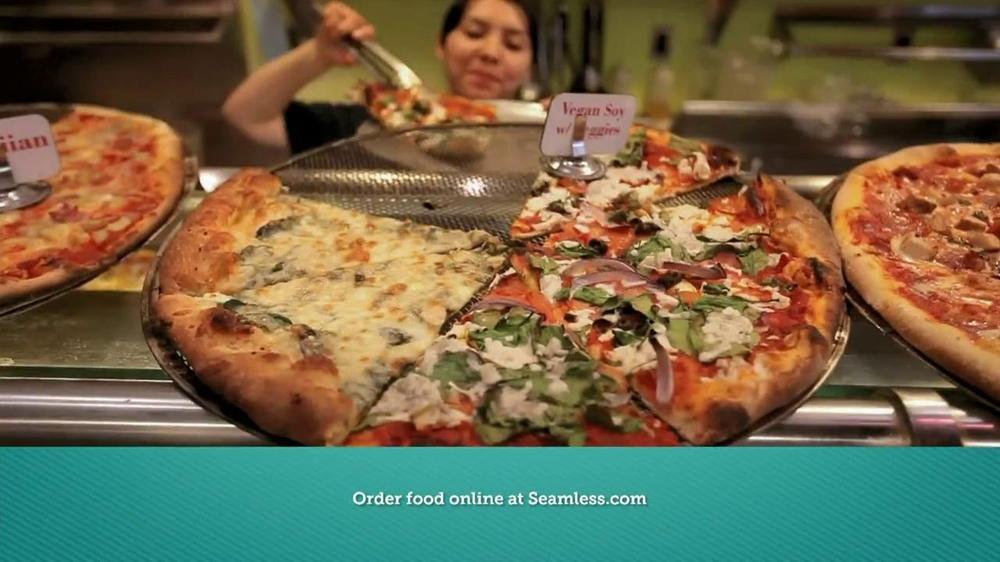 Seamless.com TV Spot, 'Food is Here' - Screenshot 2
