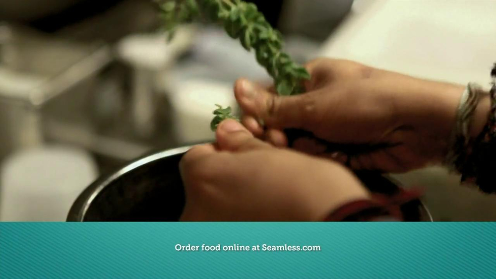 Seamless.com TV Spot, 'Food is Here' - Screenshot 3