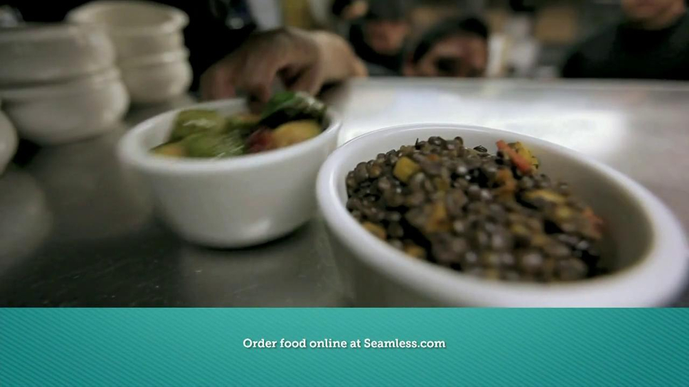Seamless.com TV Spot, 'Food is Here' - Screenshot 4