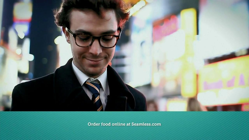 Seamless.com TV Spot, 'Food is Here' - Screenshot 8