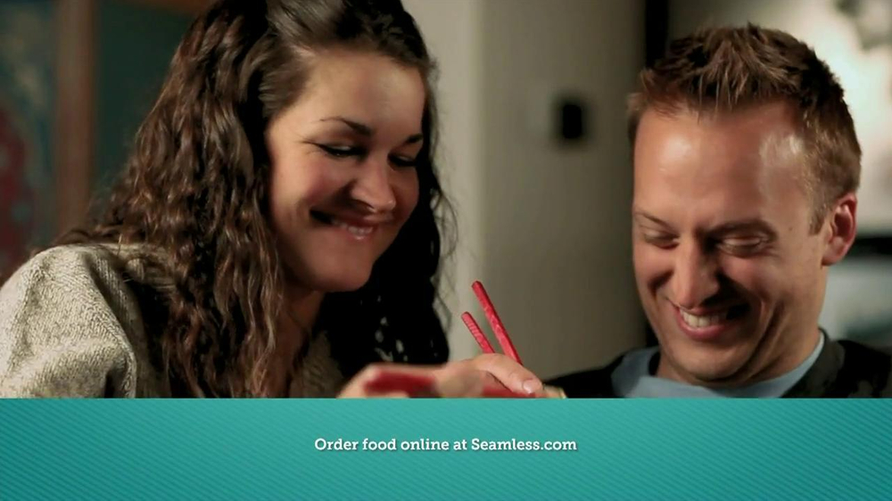 Seamless.com TV Spot, 'Food is Here' - Screenshot 9