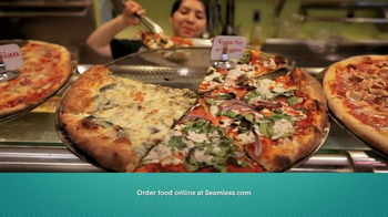Seamless.com TV Spot, 'Food is Here' - Thumbnail 2