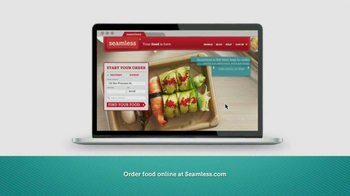 Seamless.com TV Spot, 'Food is Here' - Thumbnail 5