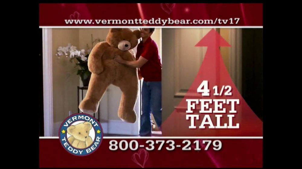 Vermont Teddy Bear TV Spot, 'Valentine's Day' - Screenshot 2