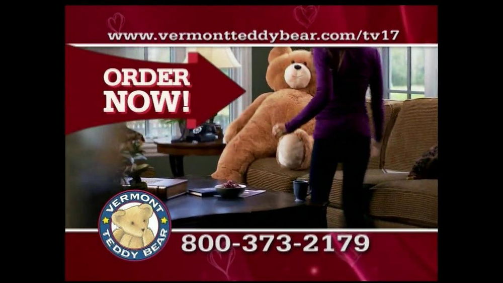Vermont Teddy Bear TV Spot, 'Valentine's Day' - Screenshot 5