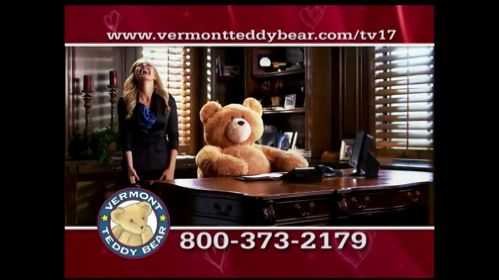 Vermont Teddy Bear TV Spot, 'Valentine's Day' - Screenshot 6
