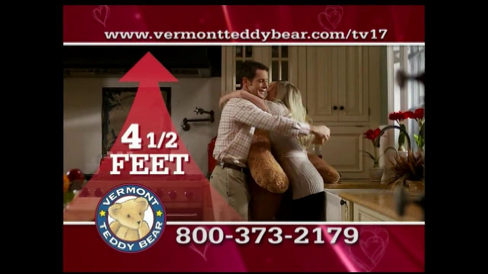 Vermont Teddy Bear TV Spot, 'Valentine's Day' - Screenshot 9