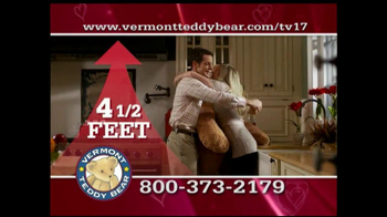 Vermont Teddy Bear TV Spot, 'Valentine's Day' - Thumbnail 9