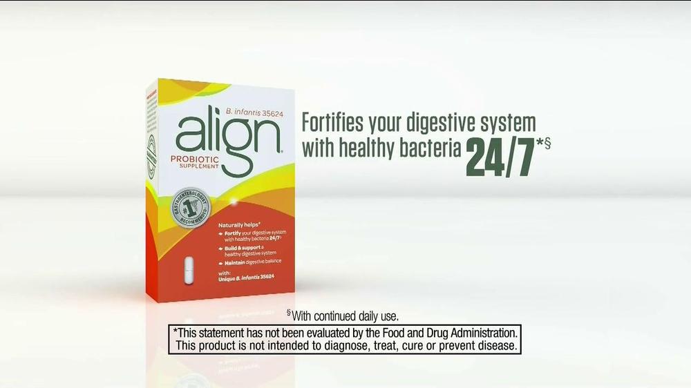 Align Probiotics TV Spot, 'Digestive Balance' - Screenshot 8