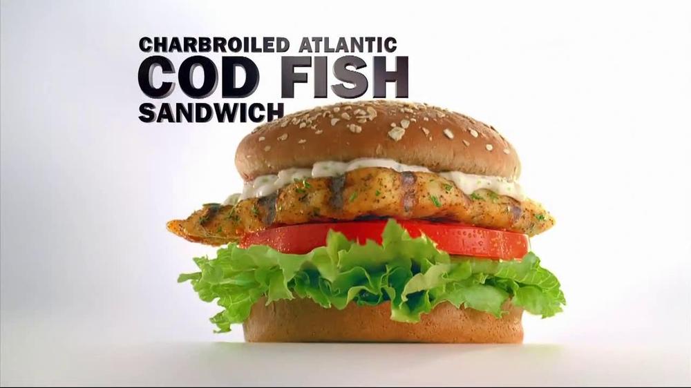 Carl 39 s jr tv spot 39 fried 39 feat nina agdal song bobby for Carl s jr fish sandwich