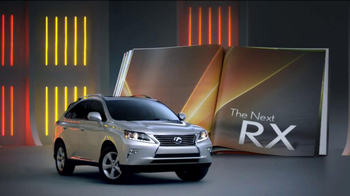 2013 Lexus RX 350 AWD TV Spot, 'Turn the Page'