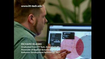 ITT Technical Institute Opportunity Scholarship TV Spot