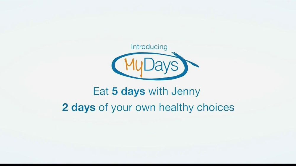 my days jenny craig Jenny craig has been my go-to weight control method for a couple of years i fell off the wagon last year and gained a lot of stress weight, but i'm back on the path and losing weight and now i have a workout studio curves is a great workout that you can modify to your own needs and wants the staff is super and very supportive.