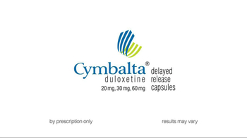 Cymbalta TV Spot, 'Imagine The Day With Less Pain'