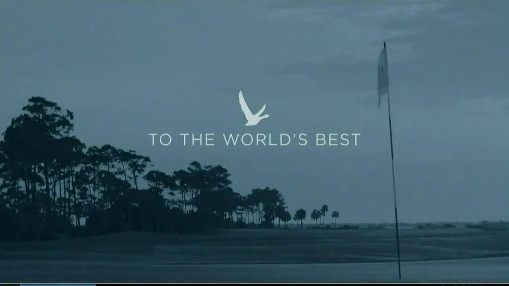 Grey Goose TV Spot, 'To the World's Best' Featuring Matt Kuchar - Screenshot 1