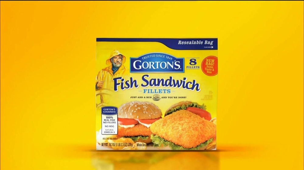 Gorton 39 s fish sandwich fillets tv commercial for Gordon fish sticks