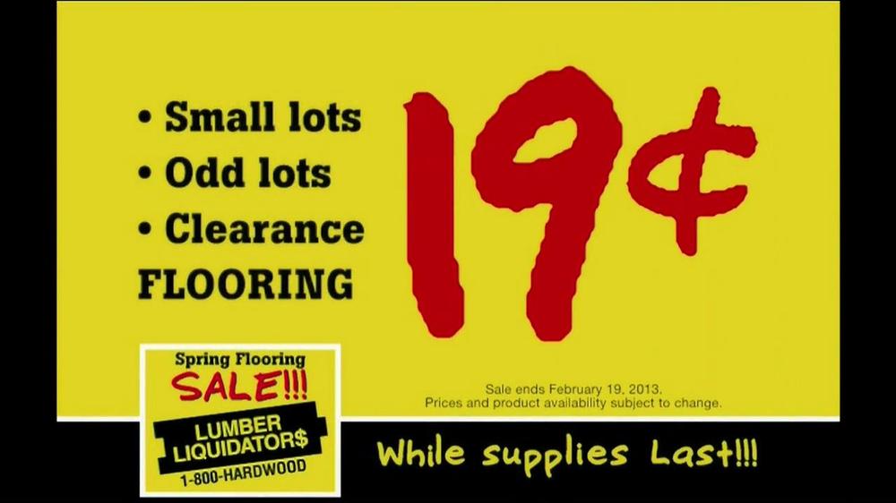 Lumber Liquidators Spring Flooring Sale TV Commercial ...