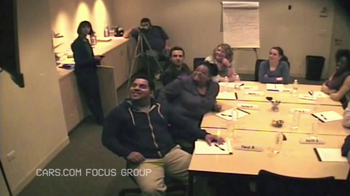 Cars.com Super Bowl 2013 Teaser, 'Focus Group'