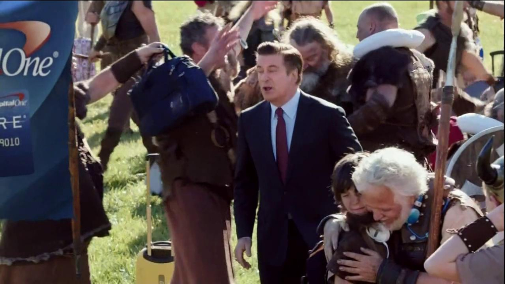 Capital One Venture TV Spot, 'Family Reunion' Featuring Alec Baldwin - Screenshot 1