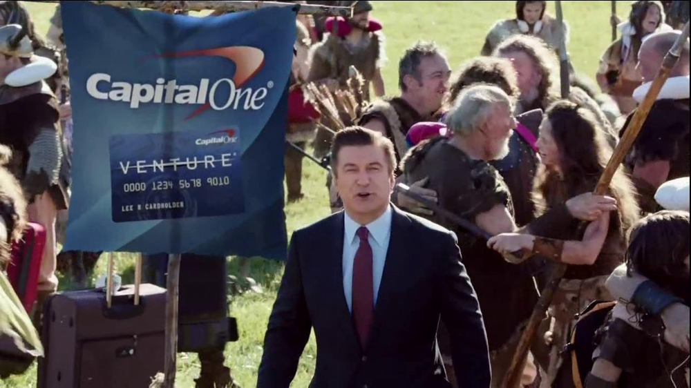 Capital One Venture TV Spot, 'Family Reunion' Featuring Alec Baldwin - Screenshot 2