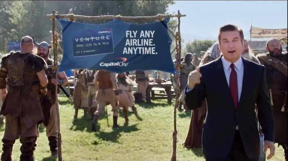 Capital One Venture TV Spot, 'Family Reunion' Featuring Alec Baldwin - Screenshot 5