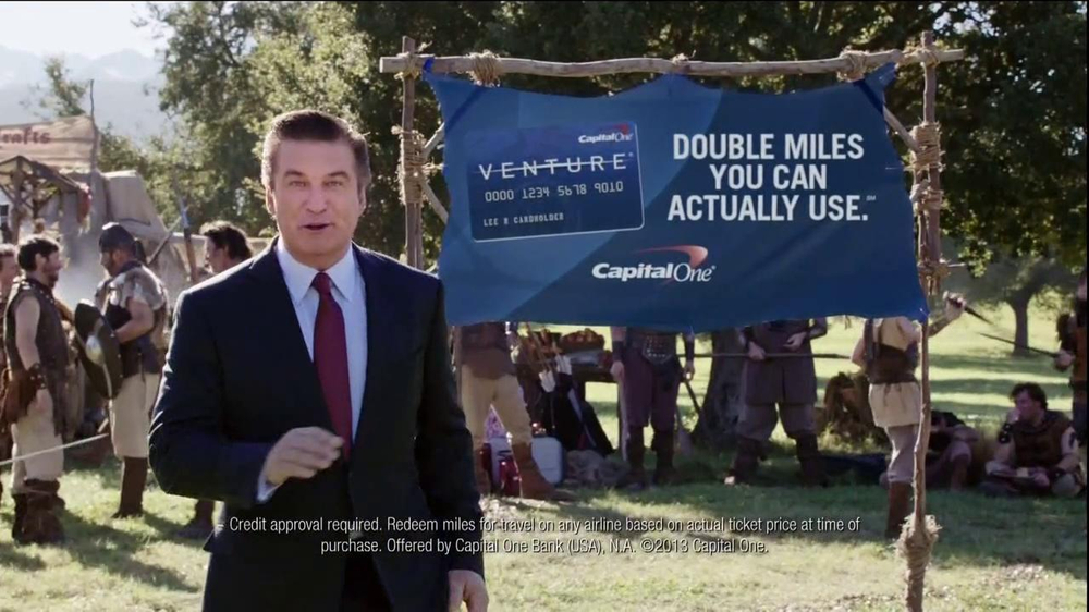 Capital One Venture TV Spot, 'Family Reunion' Featuring Alec Baldwin - Screenshot 9