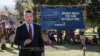 Capital One Venture TV Spot, 'Family Reunion' Featuring Alec Baldwin - Thumbnail 9